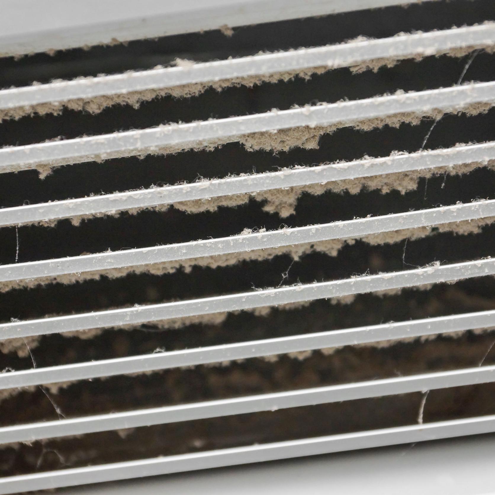 Dusty air vent